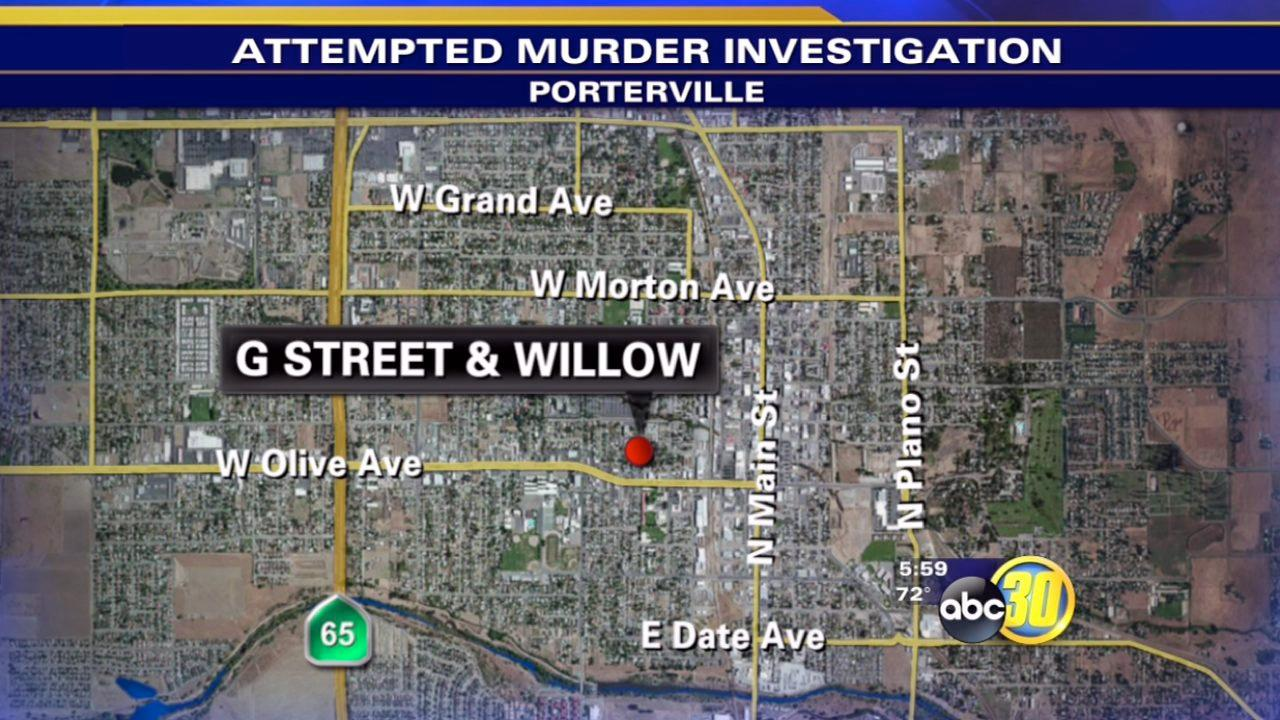 Man stabbed during argument in Porterville