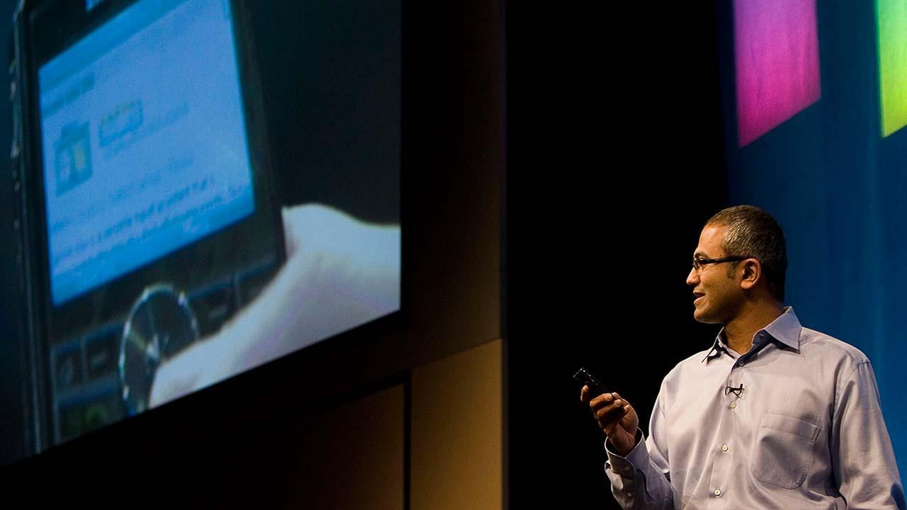 Microsoft Senior Vice President of Portal and Advertising Platform Group Satya Nadella
