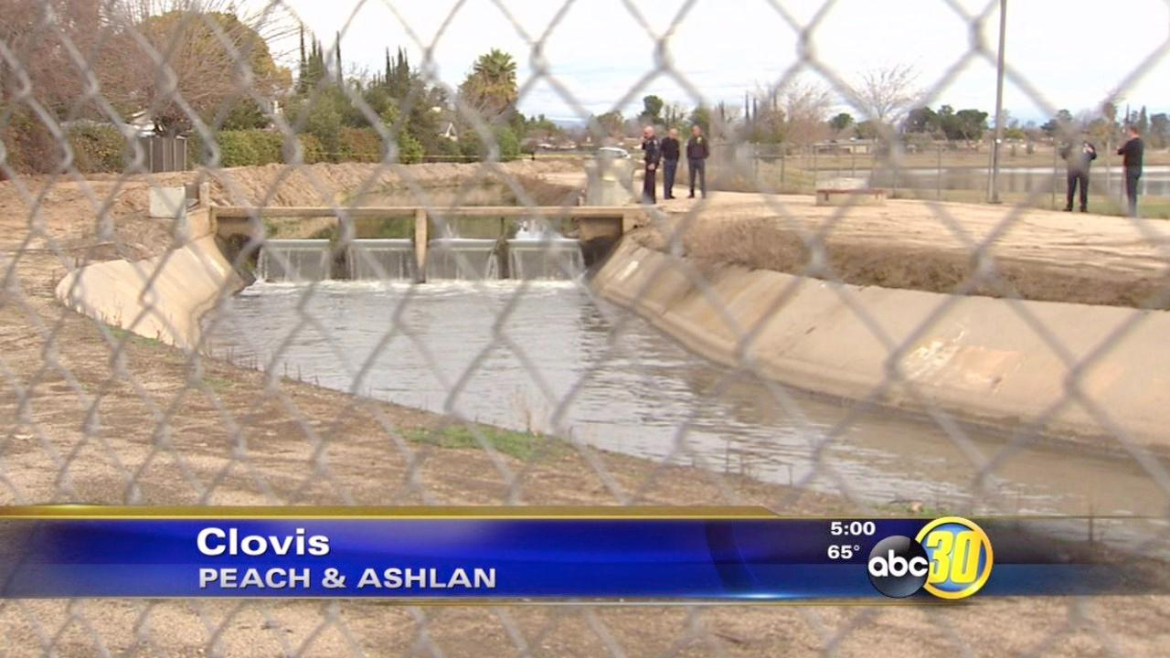 Man found floating in Clovis canal ID'd