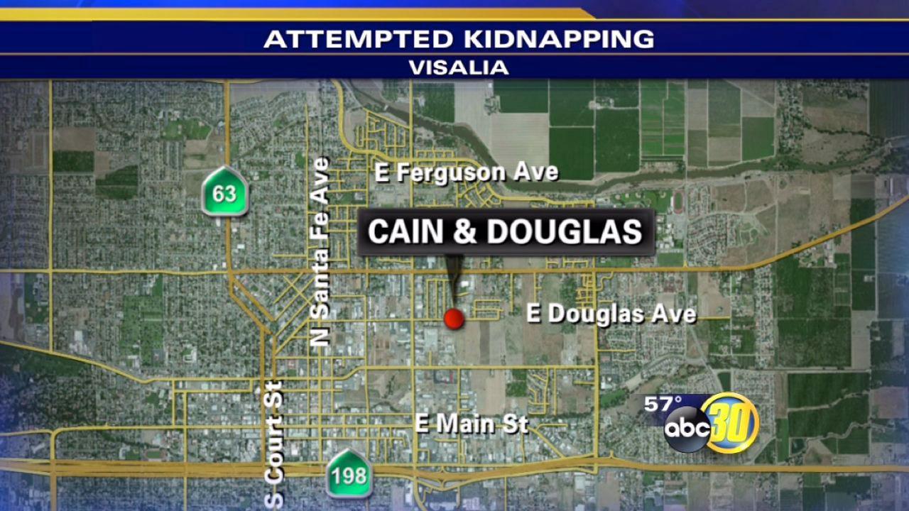 Teen escapes kidnapper in Visalia