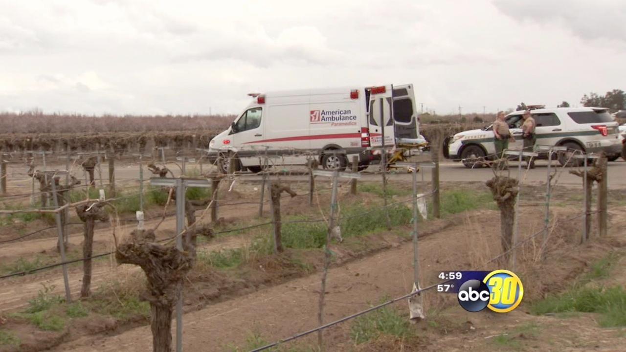 Man struck by lightning in Western Fresno County