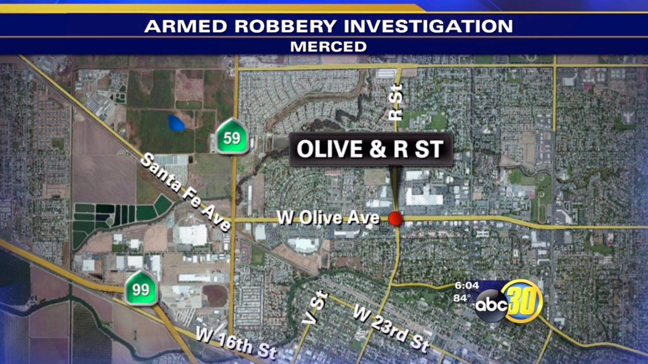 Merced police seek help to catch armed robber