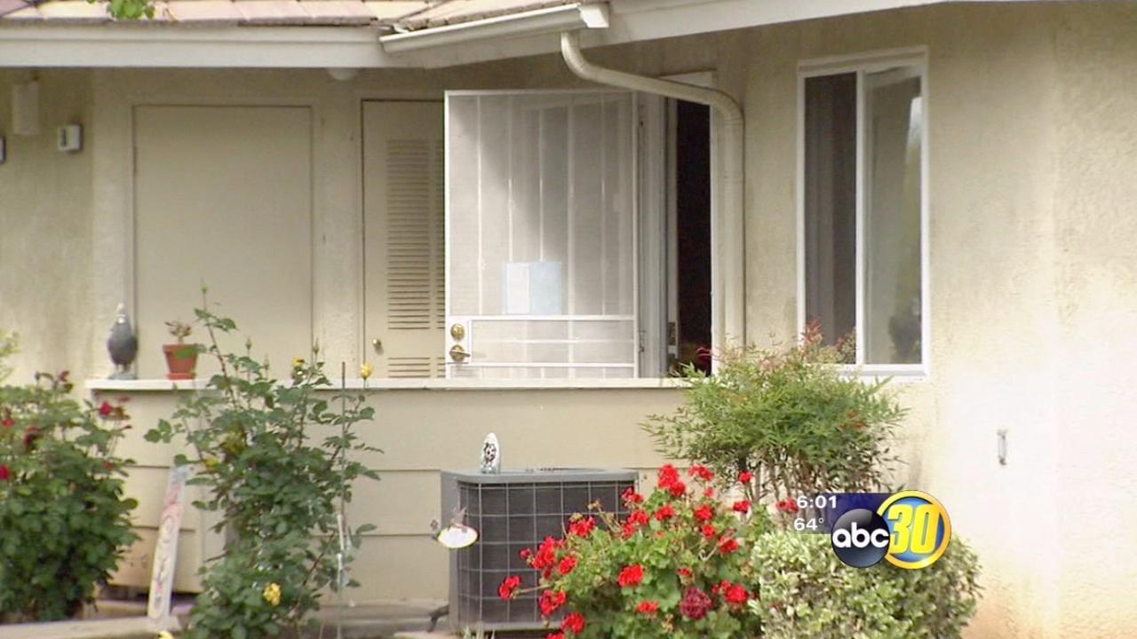 Elderly woman dead after fire at Sanger home