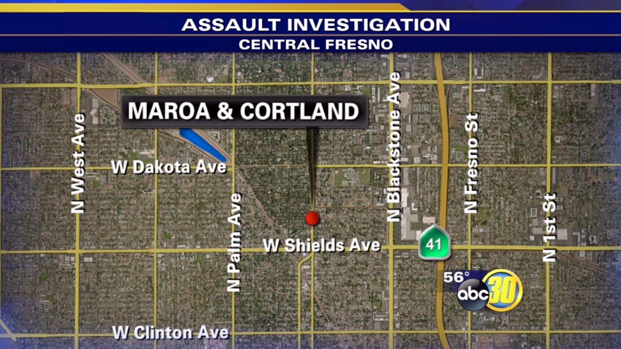 Man attacked with mallet in Central Fresno