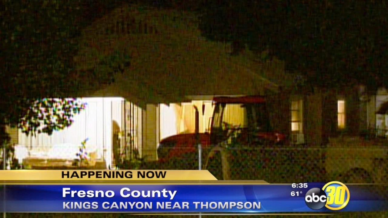 Fresno County home invasion leaves 2 elderly residents injured