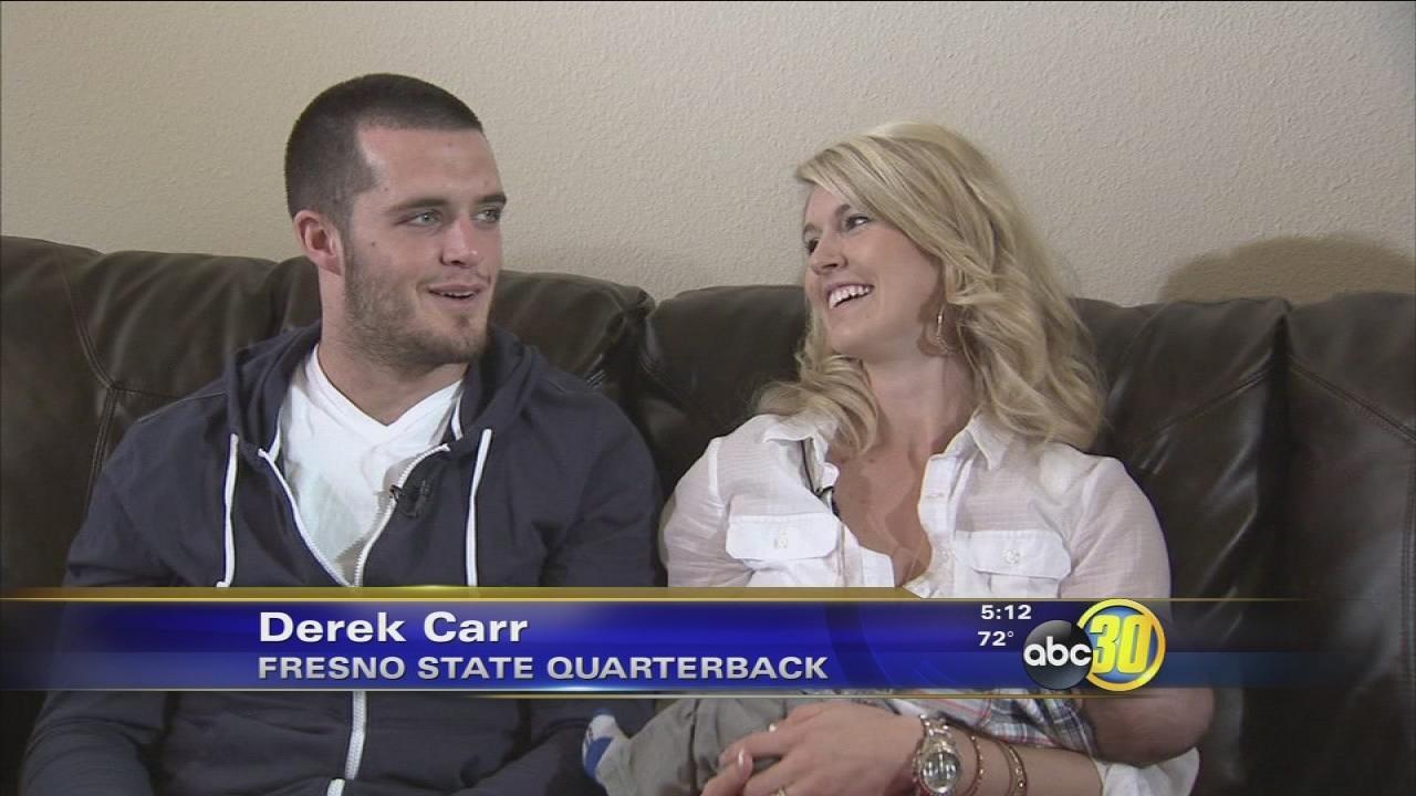 Derek Carr: Faith first, family second, football third