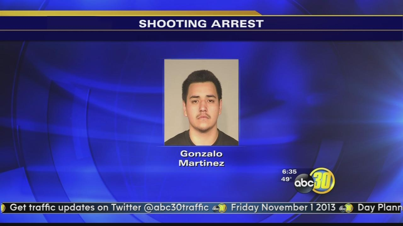 Fresno shooting suspect arrested