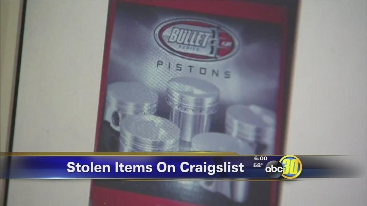 Fresno Man Busted In Craigslist Stolen Property Sting Abc30 Com