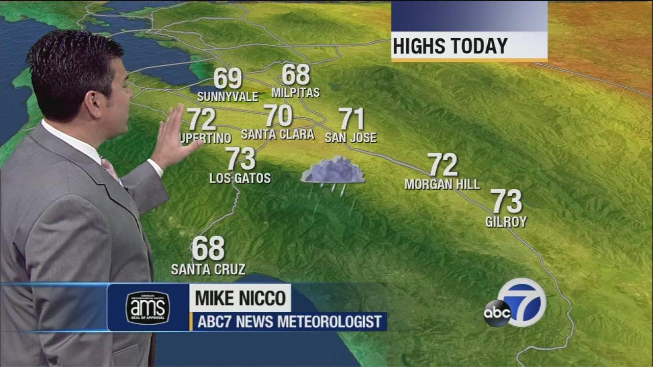 Bay Area weather forecast for Thursday