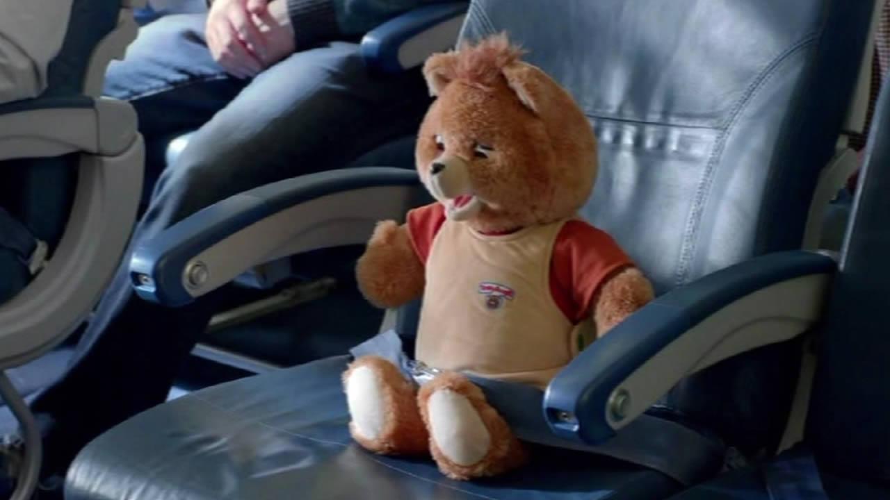 Teddy Ruxpin in Delta video