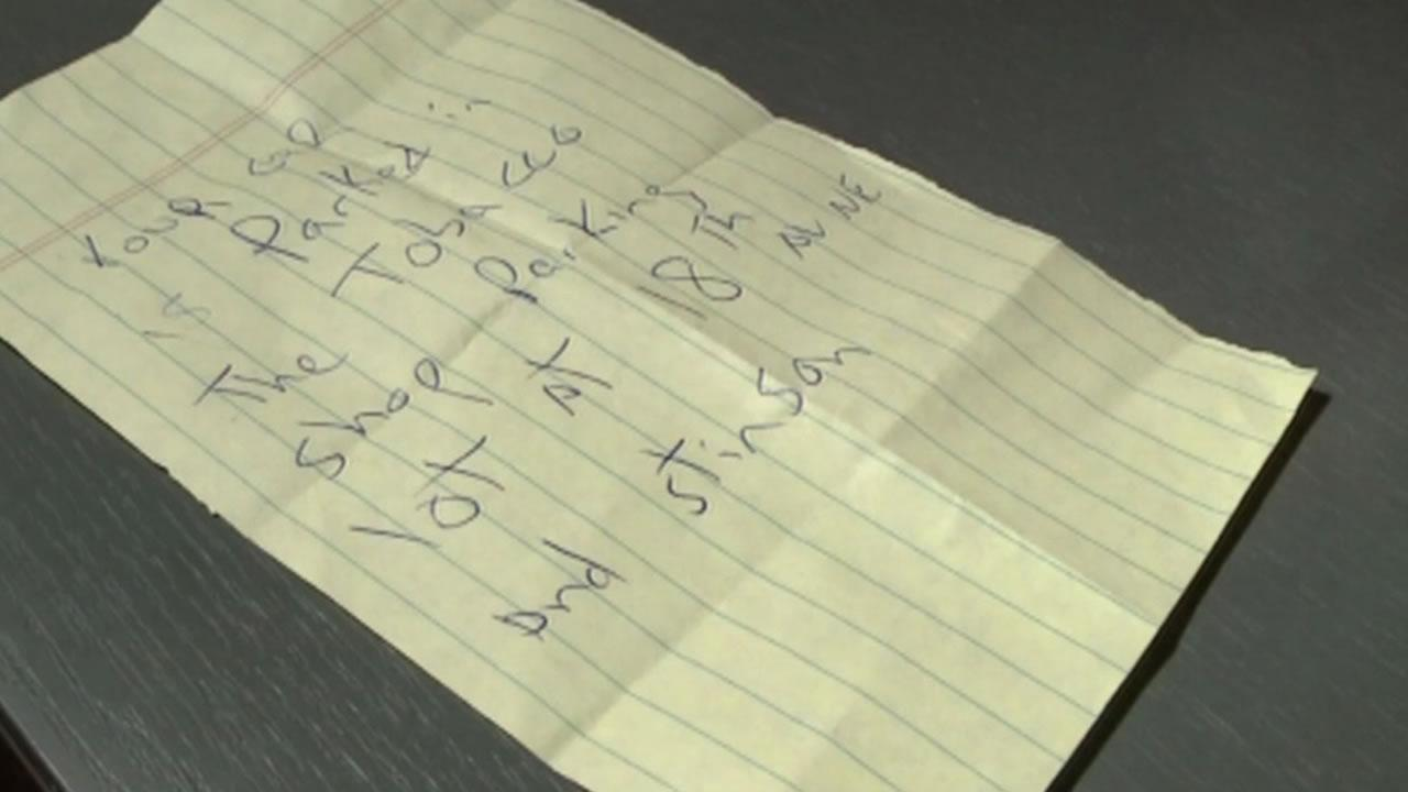 A man is publicly thanking a mysterious good Samaritan who came to his rescue when he had a seizure.