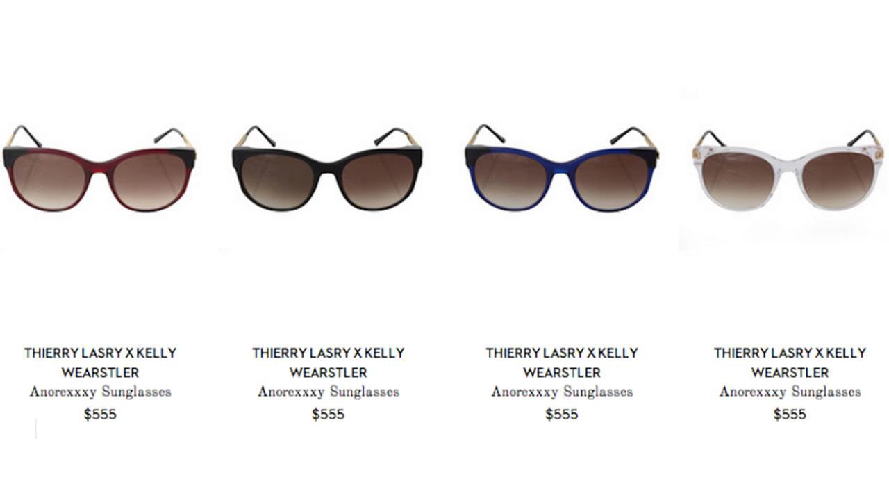Anorexxxy sunglasses