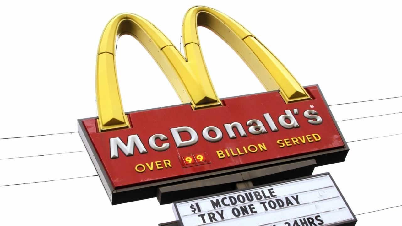 Fast food giant McDonalds