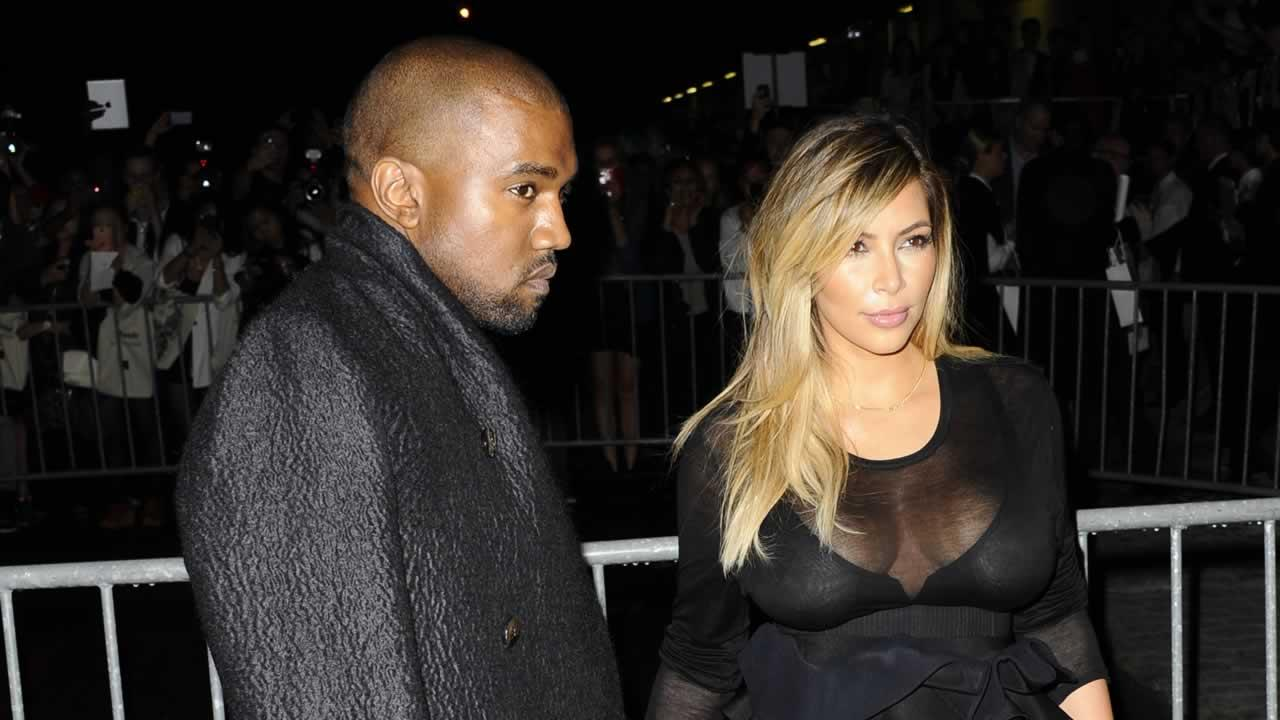 Rapper Kayne West reportedly proposed to girlfriend Kim Kardashian Monday night at AT&T Park in San Francisco.