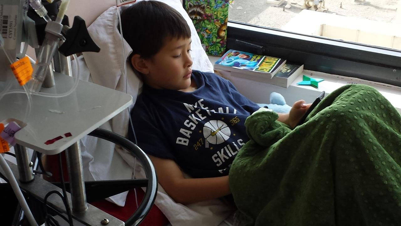 Seven-year-old Baylor Fredrickson is bi-racial and in need of a bone marrow transplant.