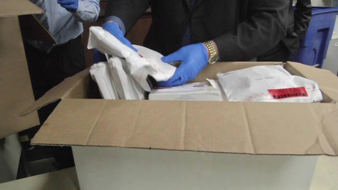Alameda County rape kits
