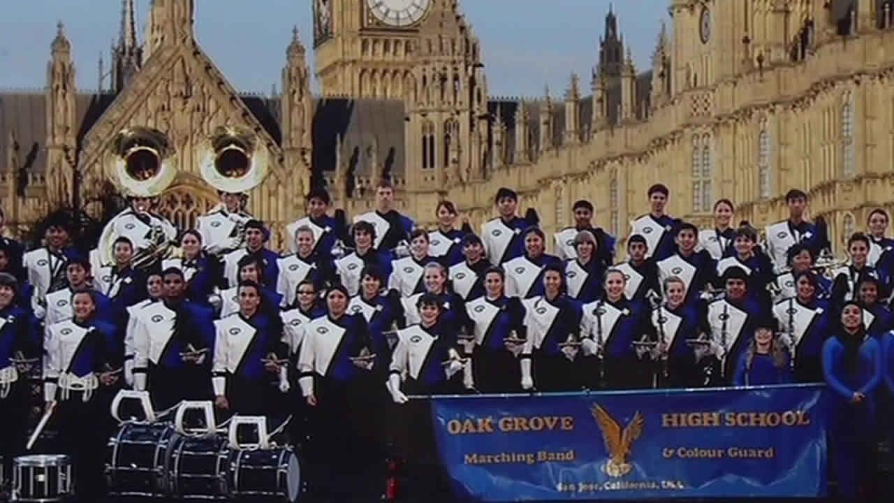 Oak Grove High School marching band