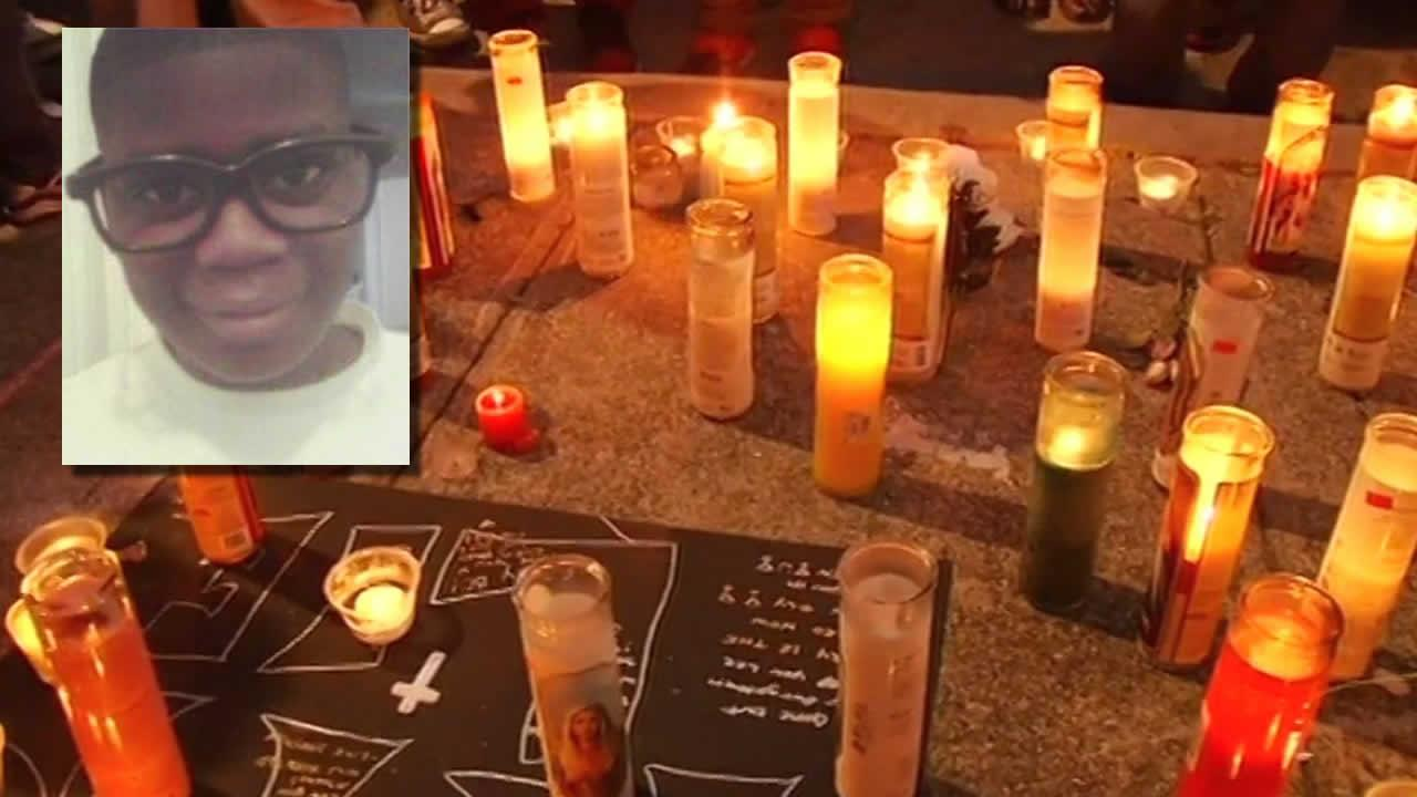 vigil for Lee Weathersby