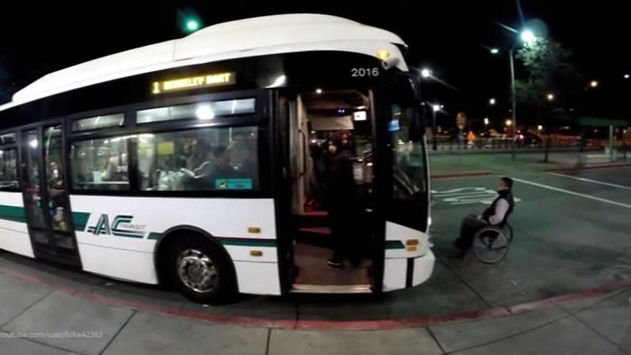 Ac transit bus fight interview