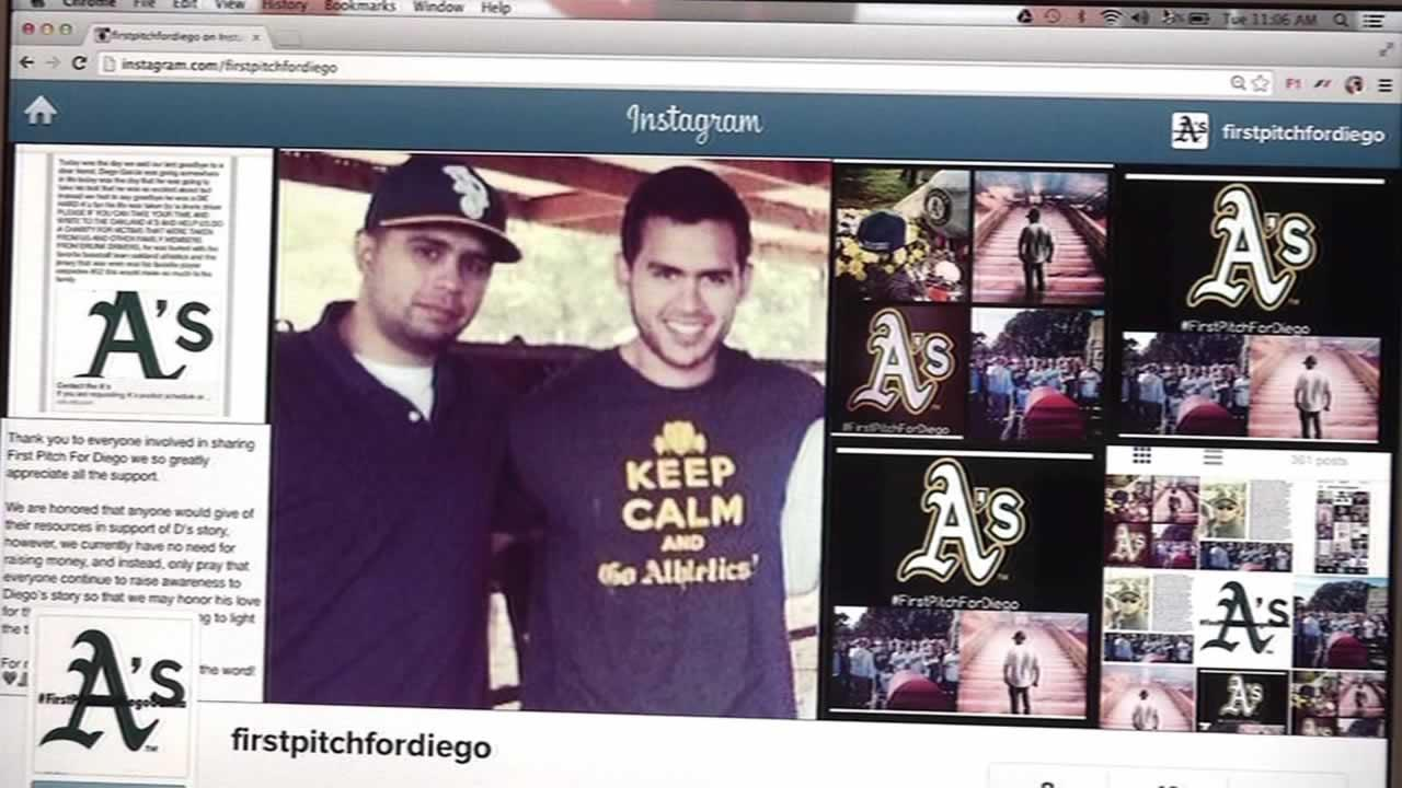 Social network page for Diego Garcia.