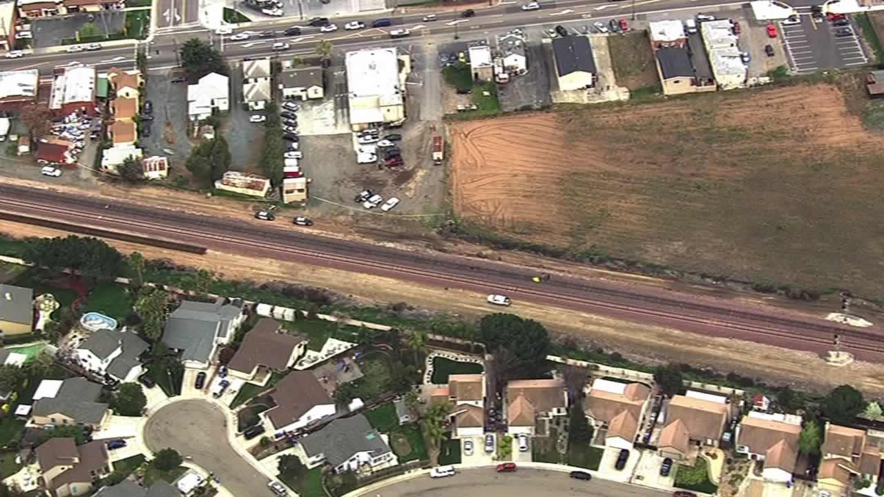 Person standing on the tracks struck, killed by Amtrak train in Oakley
