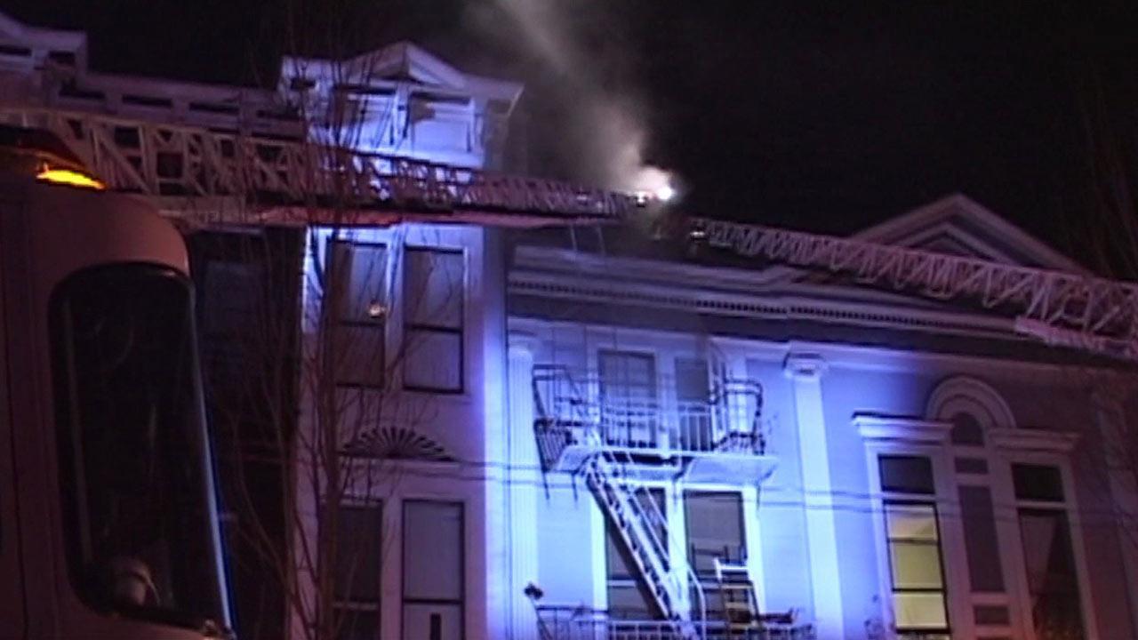 Fire in San Francisco