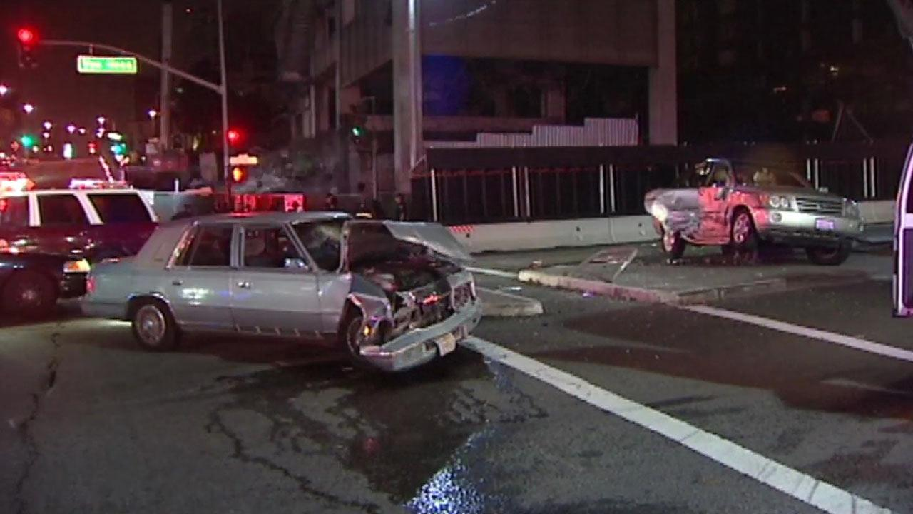Accident in San Francisco