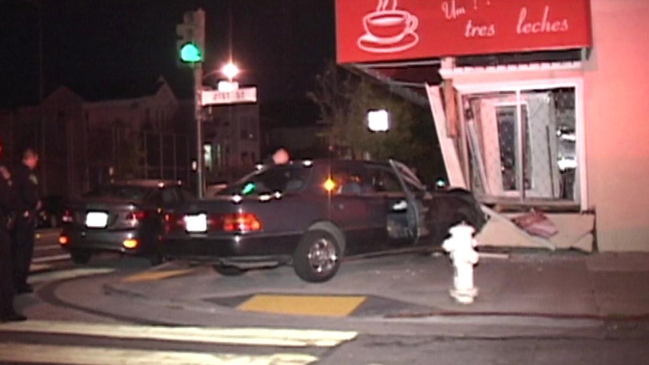 San Francisco hit-and-run crash