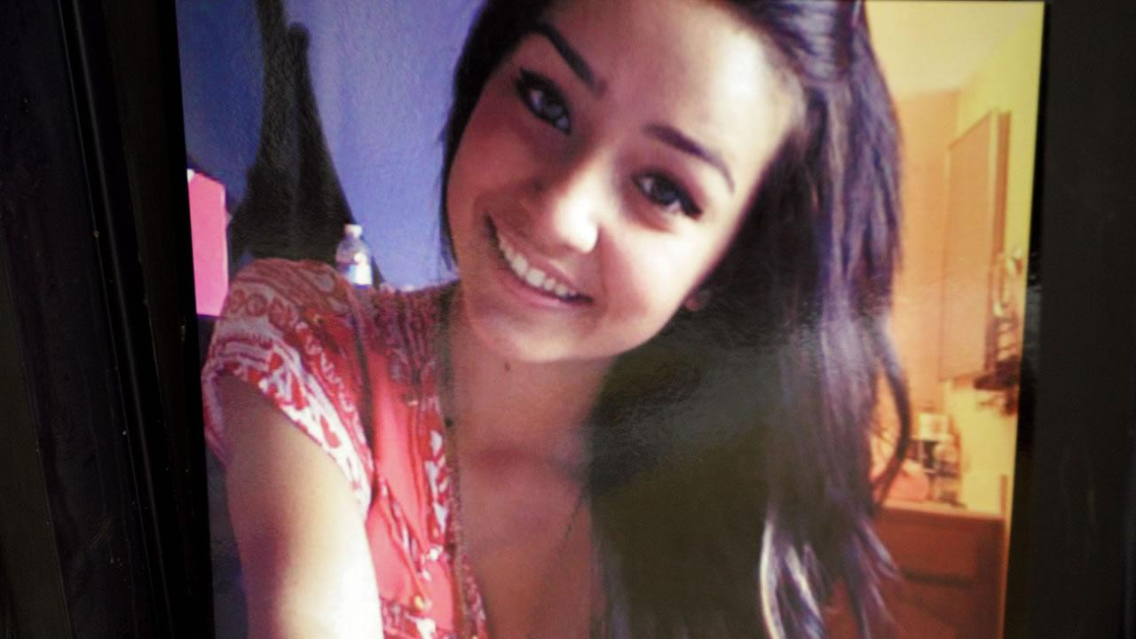 An undated file photo shows a picture of 15-year-old Sierra LaMar at Burnett Elementary School in Morgan Hill, Calif.