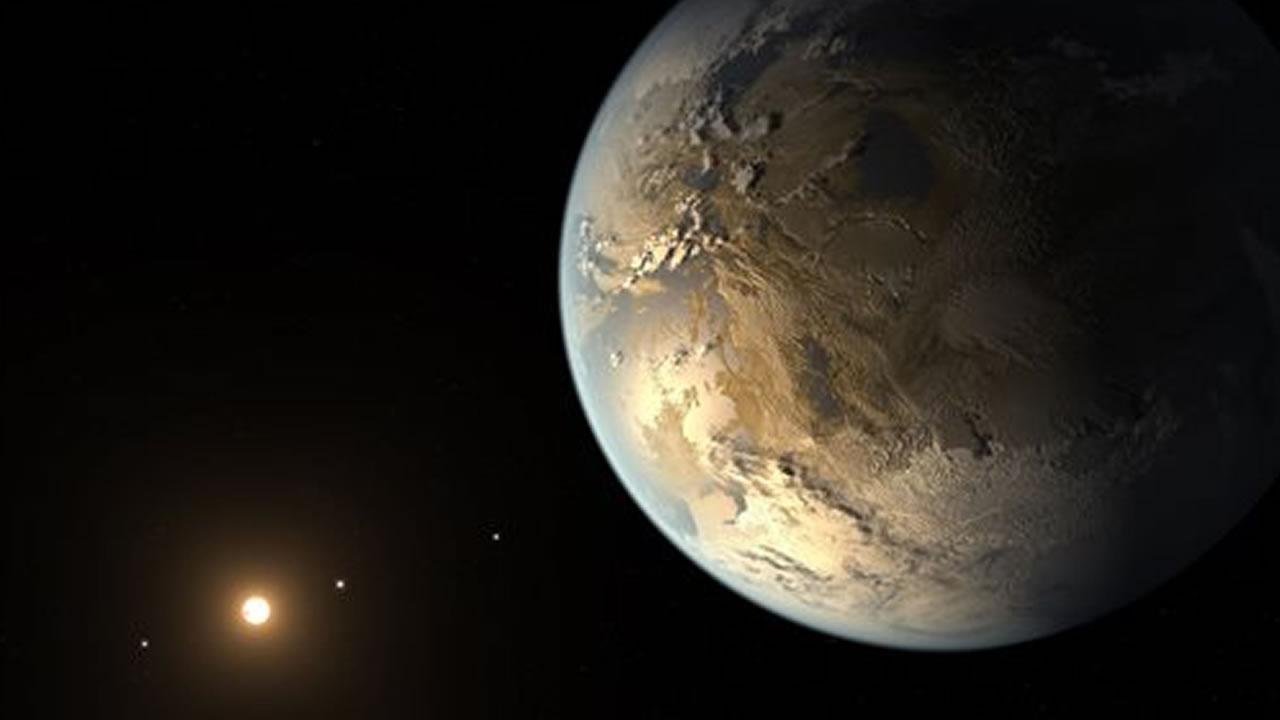 Artists rendering provided by NASAKepler-186f