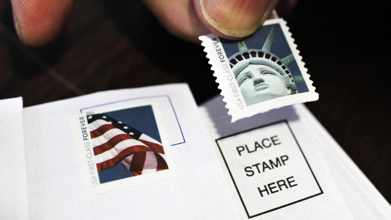 us postal service raises price for first class stamp to 49 cents abc7newscom