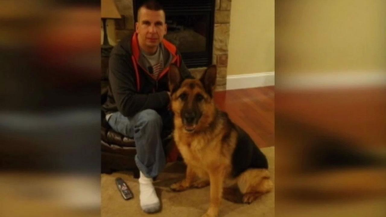 Officer Chris Coscia and his K9 Dante