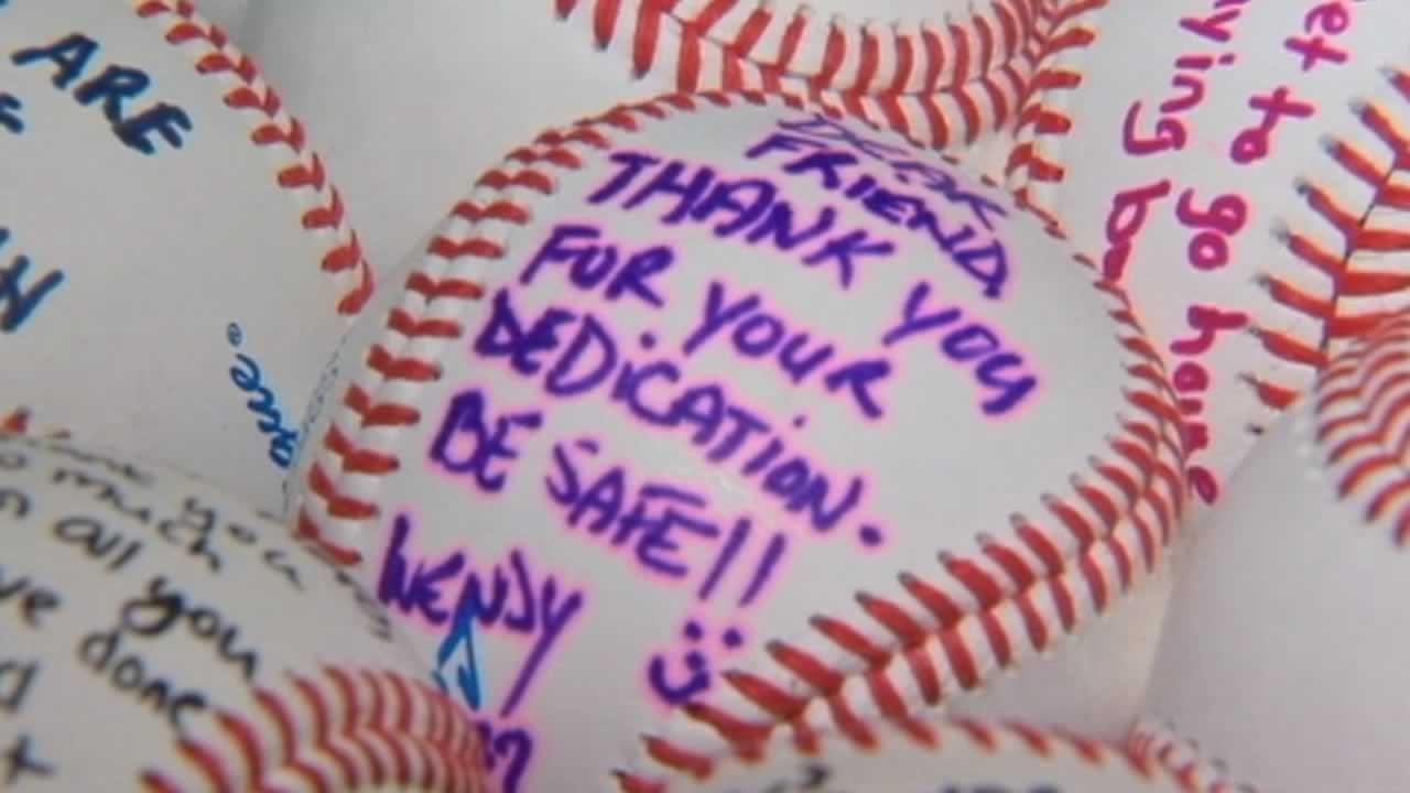 A 12-year-old boy in New Jersey is hitting a home run with a unique idea to support U.S. troops overseas.