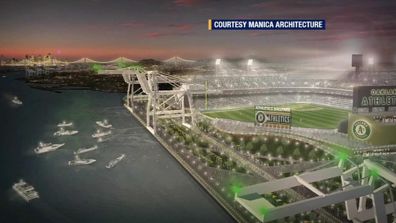 Oakland waterfront ballpark plan