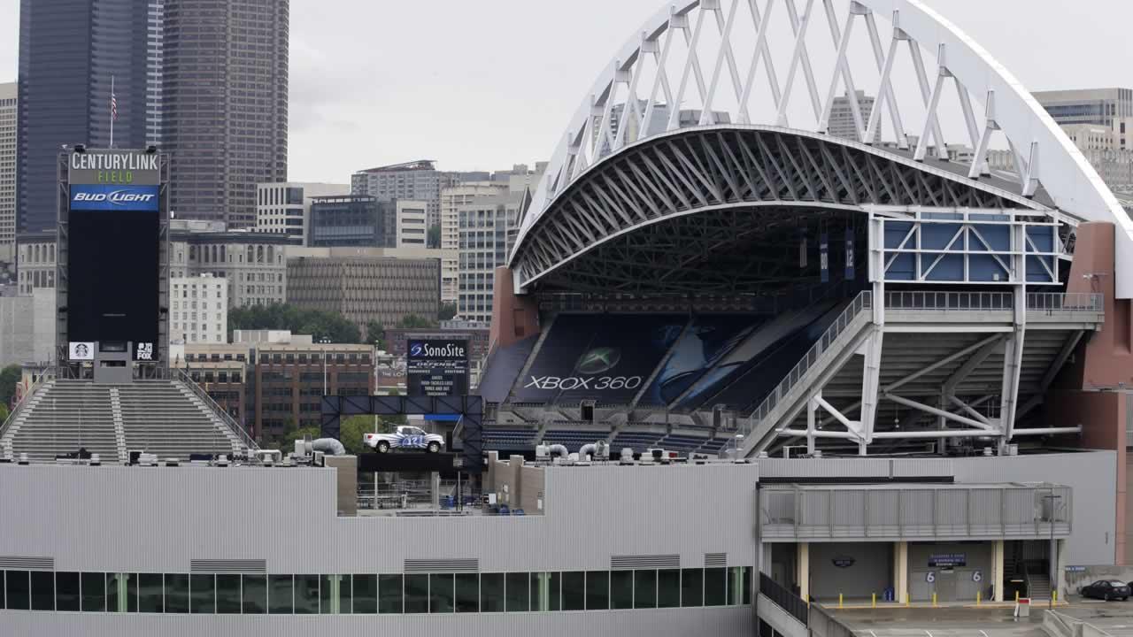 CenturyLink Field in Seattle.