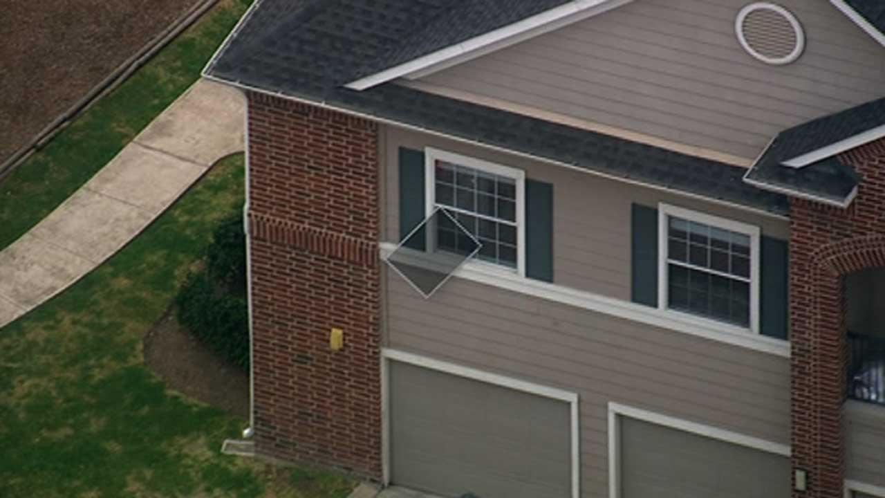 A two-year-old boy was transported via LifeFlight in critical condition after he fell out of a second-story window at an apartment complex in east Harris County.