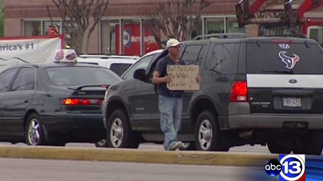 Harris County considers creating permits for panhandlers