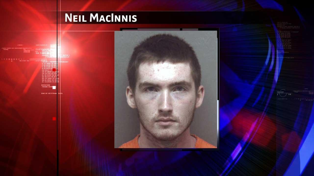 Neil Allan MacInnis, 18, faces charges in a shooting at the mall branch of a southwest Virginia community college that injured two women.