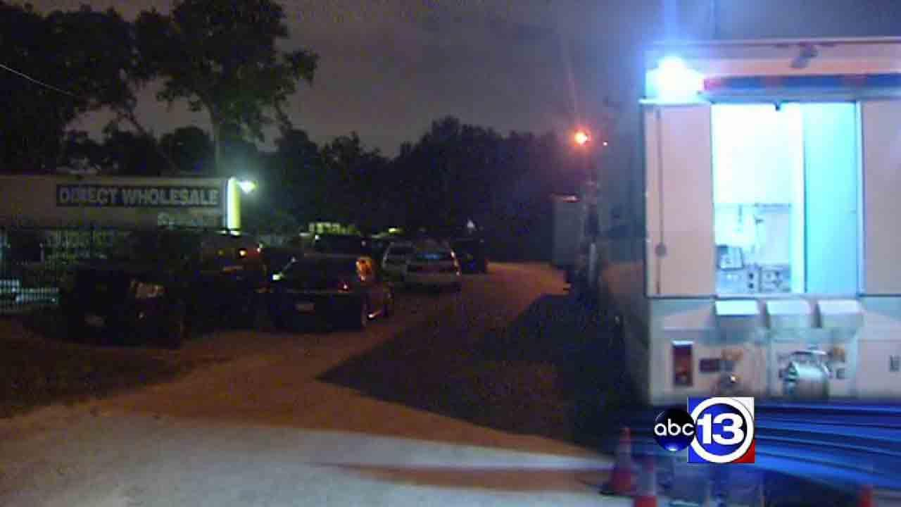 Officers have surrounded a northwest Houston home after a woman inside reportedly starting firing shots.