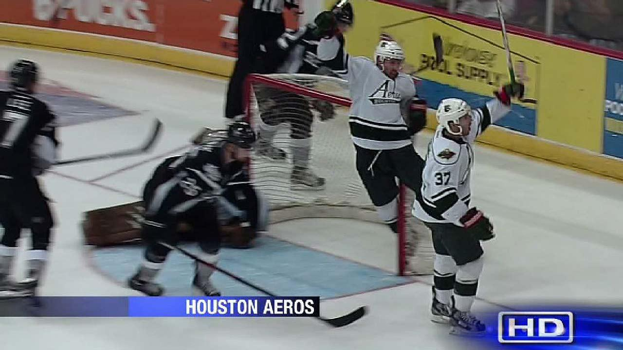 It's official: Aeros hockey team leaving Houston at end of season
