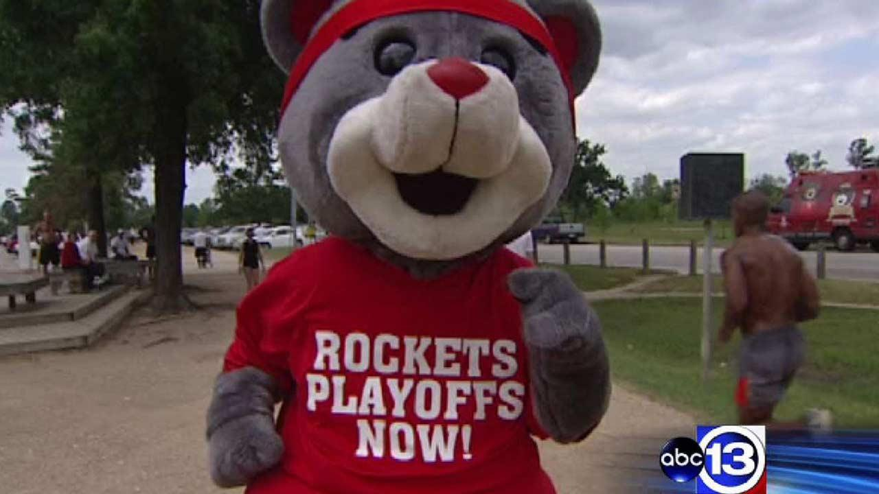 Run with Clutch to help rev up the Rockets during playoffs