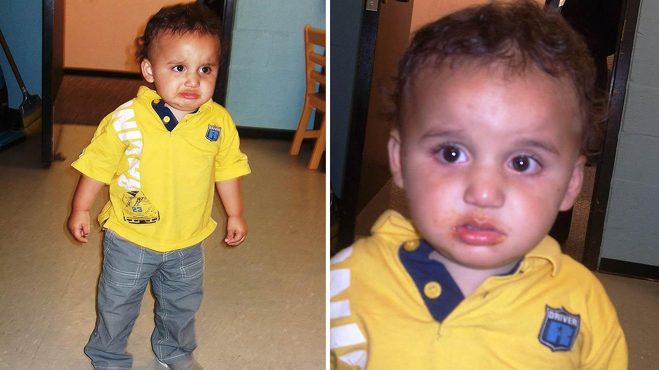 Toddler found abandoned at shopping center