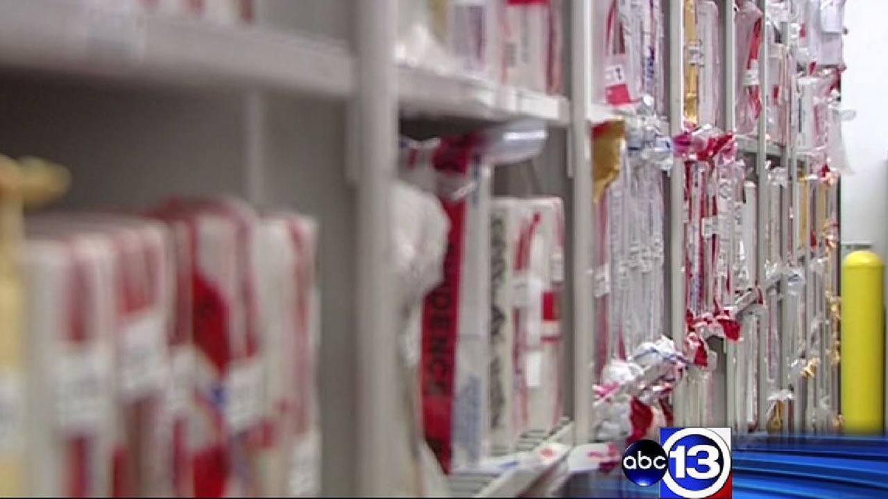 Rape kits shipped out for testing