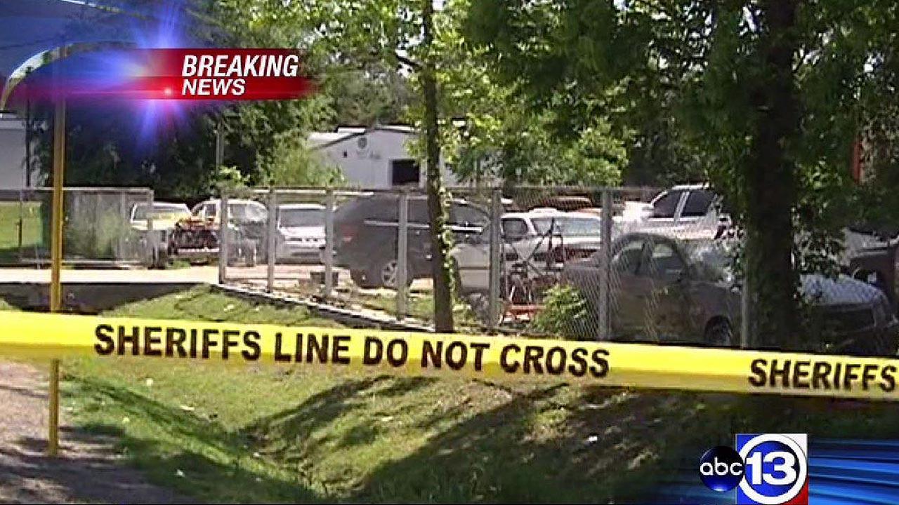 Shooting in northeast Harris County