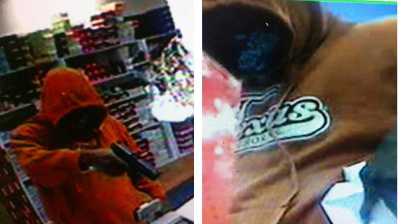 Rosenberg police say this man robbed a shoe store on Avenue H at gunpoint Sunday afternoon. If you recognize this individual or have any information, contact RPD at 832-595-3700