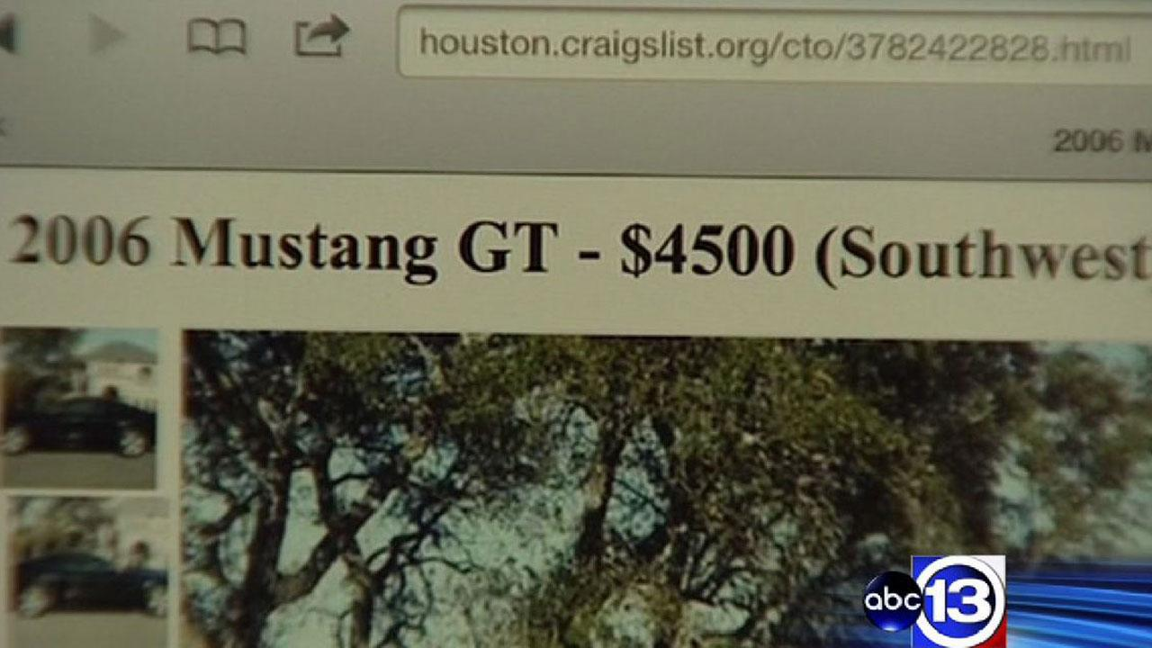 Houston mother, son robbed at gunpoint while trying to purchase car listed in Craigslist ad