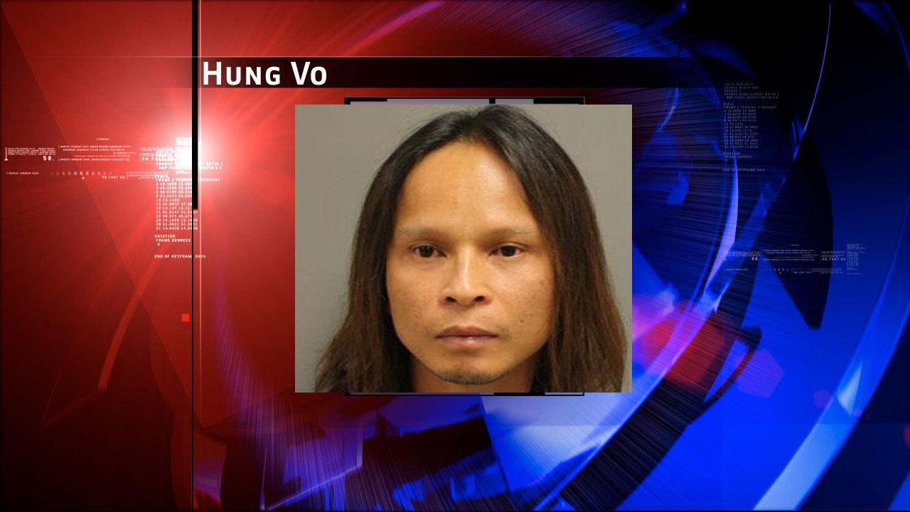 Hung Vo, 38, is charged with prostitution. Harris County Sheriffs Office Vice Unit investigators made a dozen arrests on Tuesday, May 7, 2013, during an undercover prostitution sting in north Harris County.HCSO