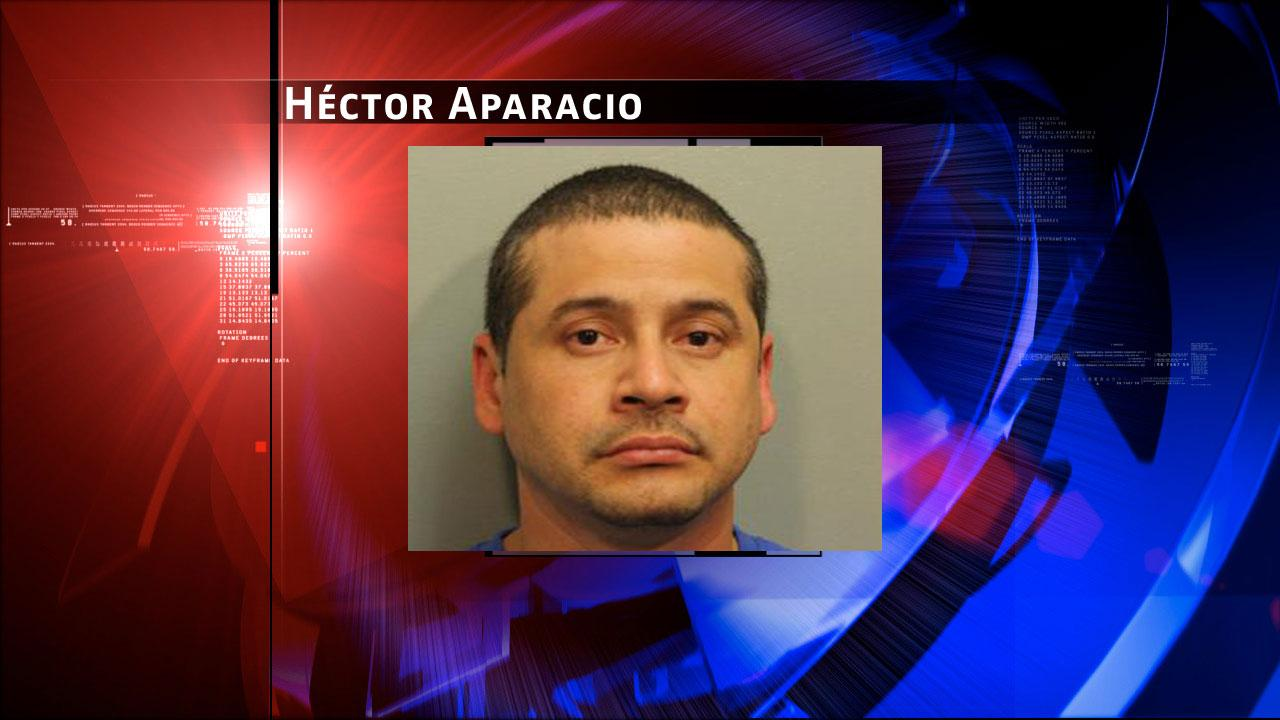 Hector Aparacio, 36, is charged with prostitution. Harris County Sheriffs Office Vice Unit investigators made a dozen arrests on Tuesday, May 7, 2013, during an undercover prostitution sting in north Harris County.HCSO
