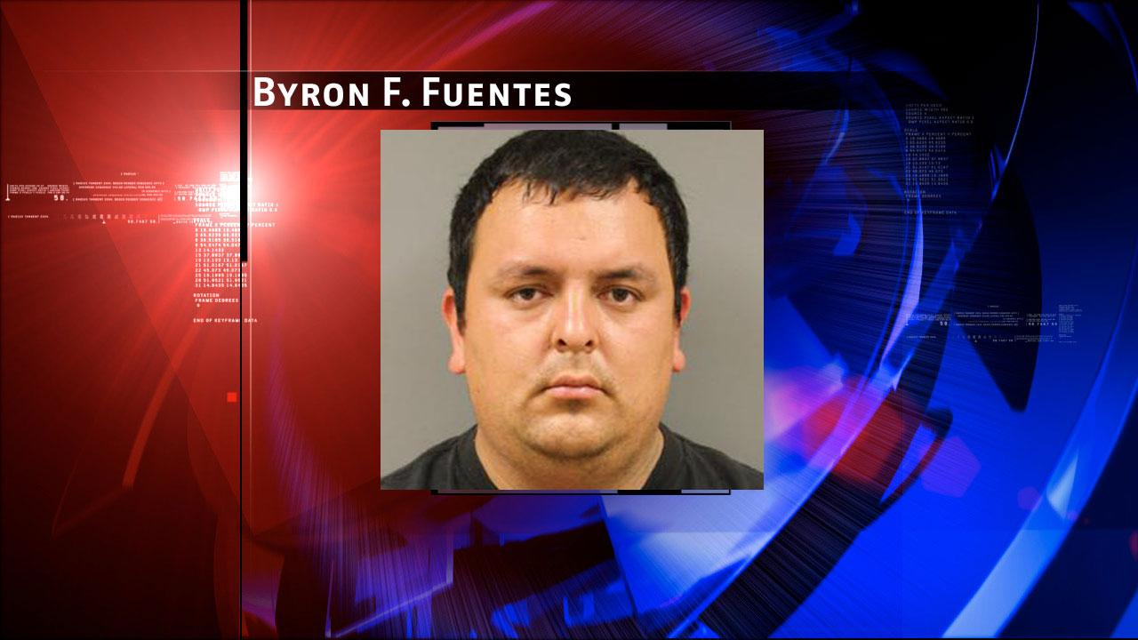 Byron F. Fuentes, 26, is charged with prostitution. Harris County Sheriffs Office Vice Unit investigators made a dozen arrests on Tuesday, May 7, 2013, during an undercover prostitution sting in north Harris County.HCSO