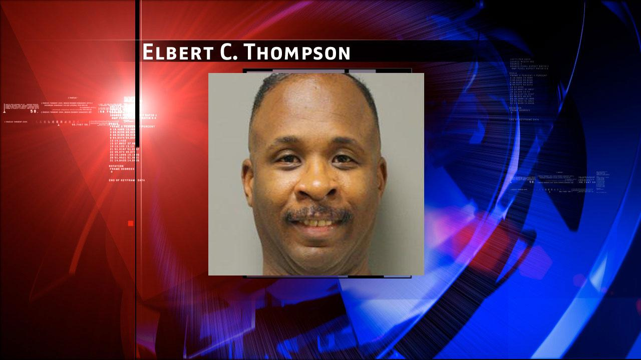 Elbert C. Thompson, 43, is charged with prostitution. Harris County Sheriffs Office Vice Unit investigators made a dozen arrests on Tuesday, May 7, 2013, during an undercover prostitution sting in north Harris County.HCSO